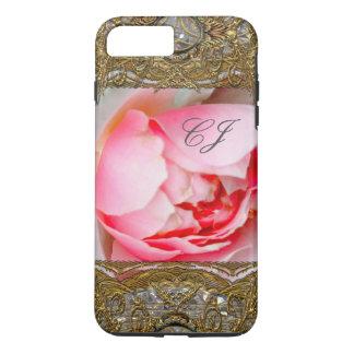 Vanmoure Petal Rose Elegant  Monogram iPhone 7 Plus Case