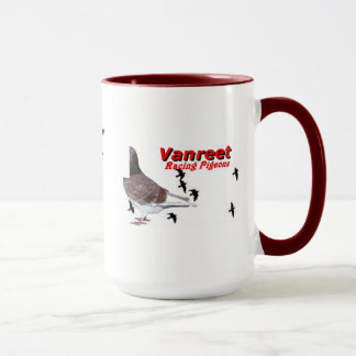 Vanreet racing Pigeon Collectable Cup