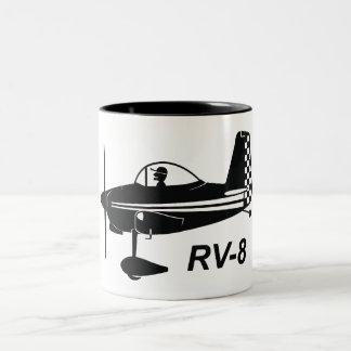 Vans RV-8 Caricature Two-Tone Coffee Mug