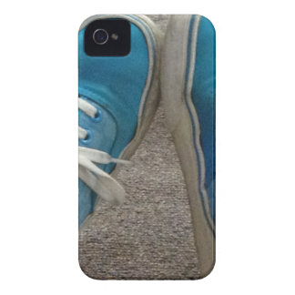 vans shoes blue iPhone 4 Case-Mate cases