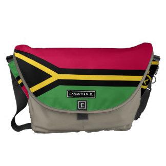 Vanuatu Flag Commuter Bags