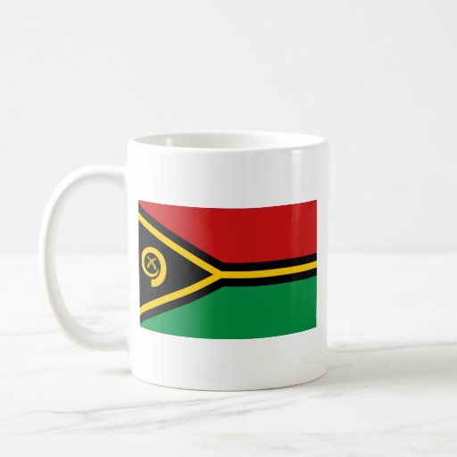Vanuatu Flag ~ Map Mug