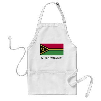 Vanuatu Flag Standard Apron