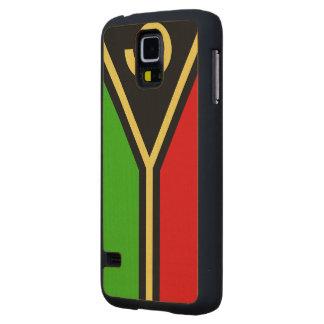 Vanuatu Flag Maple Galaxy S5 Case