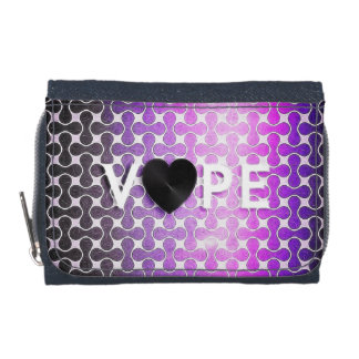 Vape Heart Retro Wallet
