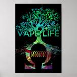 Vape Life Poster Black BG