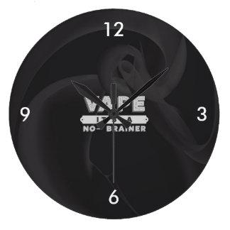 Vape No Brainer Large Clock