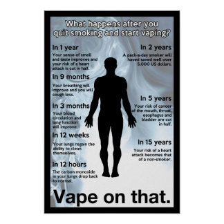 Vape on That Informational Poster