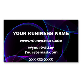 Vape Smoke Buisness Magnetic Business Card