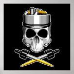 Vaper Skull: Dripper Poster