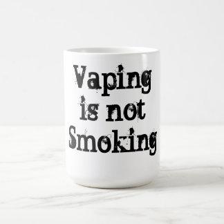 Vaping is not smoking coffee mug