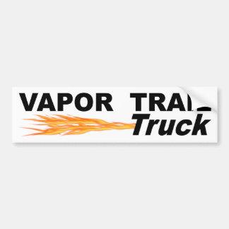 Vapor Trail Truck Bumper Sticker