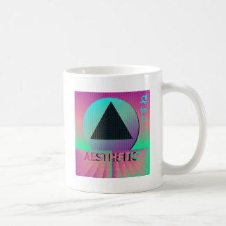 vaporwave aesthetic coffee mug