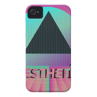 vaporwave aesthetic iPhone 4 cover