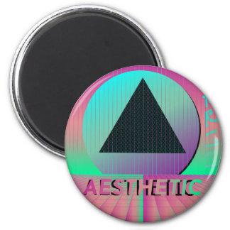 vaporwave aesthetic magnet