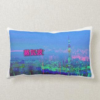Vaporwave Aesthetic Pillow