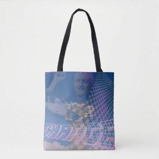 vaporwave corbyn tote bag