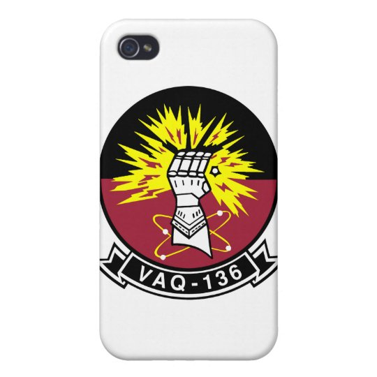 VAQ-136 Gauntlets Cover For iPhone 4