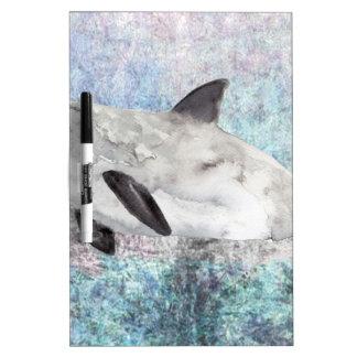 Vaquita River Dolphin Endangered Animal Painting Dry-Erase Whiteboard
