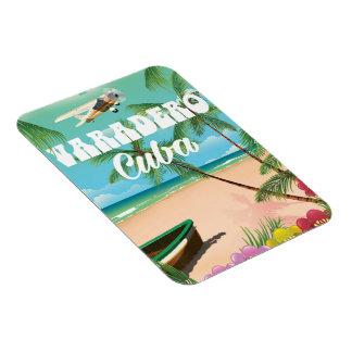 Varadero Cuban beach vacation poster Magnet
