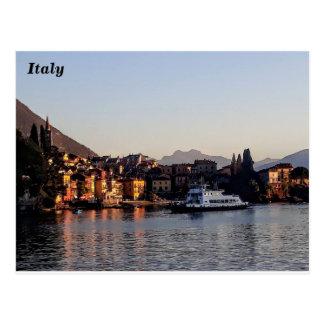 Varenna, Lake Como, Italy Postcard