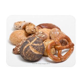 variation of baked goods magnet