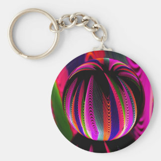 Variation of colours in the glass keychain