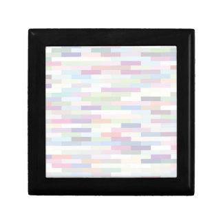 varicolored pattern gift box