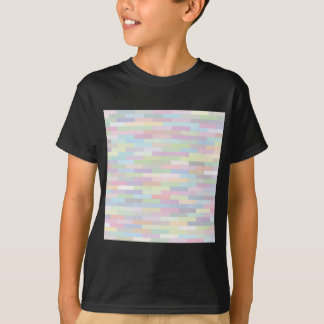 varicolored pattern T-Shirt