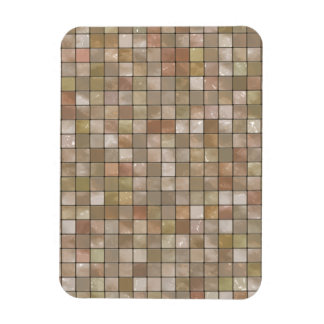 Variegated Beige Tile Pattern Magnets