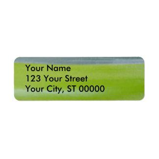 Variegated Leaf Return Address Label