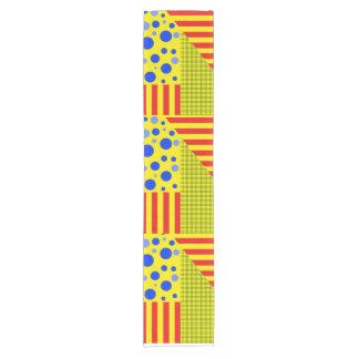 variety of patterns short table runner