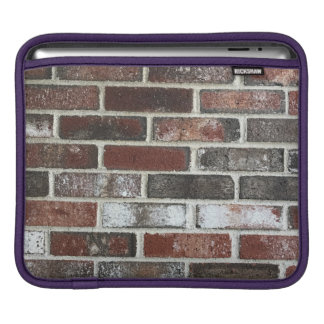 various color brick wall pattern iPad sleeve