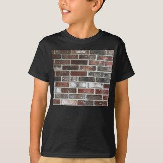 various color brick wall pattern T-Shirt