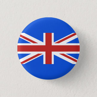 Various Color Union Jack 1 Inch Round Button
