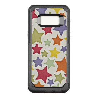 Various Colorful Stars Pattern OtterBox Commuter Samsung Galaxy S8 Case