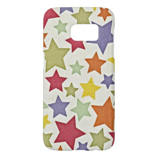 Various Colorful Stars Pattern Samsung Galaxy S7 Case
