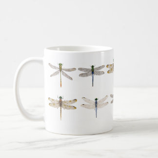Various Dragonflies on a Mug