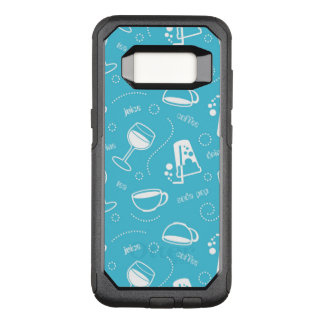 Various drinks OtterBox commuter samsung galaxy s8 case