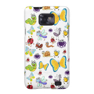 various insects samsung galaxy SII cover