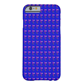 Various Mirrors in Blue Barely There iPhone 6 Case