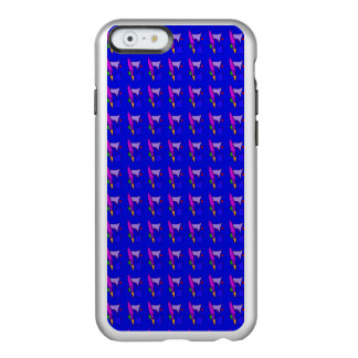 Various Mirrors in Blue Incipio Feather® Shine iPhone 6 Case
