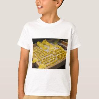 Various mix of fresh italian homemade pasta t-shirt