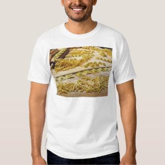 Various mix of fresh italian homemade pasta t-shirts