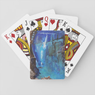 various playing cards