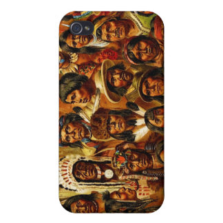 Various Tribes of Native American Indians Collage iPhone 4/4S Cover