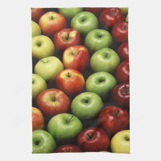 Various Types of Apples Kitchen Towel