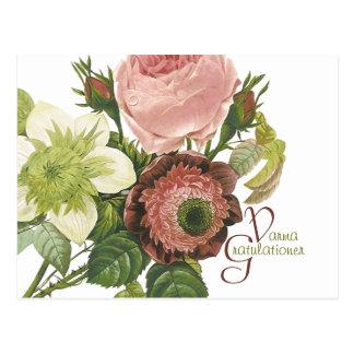 Varma Gratulationer CC0138 Postcard