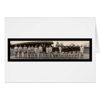 Varsity Baseball Yale Photo 1910 Card