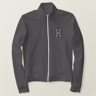 Varsity K Embroidered Jacket